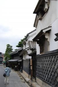 Maisons traditionnelles à Arimatsu