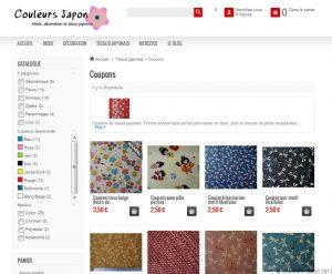 Nouveau mode de recherche sur le site de Couleurs Japon.