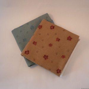 Tissu japonais en velours côtelé