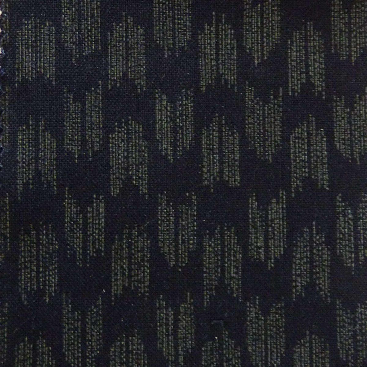 Tissu indigo avec motif yagasuri