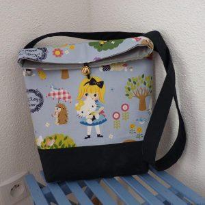 Sac en tissu Kokka Hello Kitty bleu