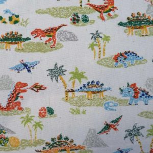Tissu enfants dinosaures