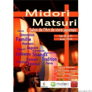 Midori Matsuri à Strasbourg les 30 et 31 août 2014