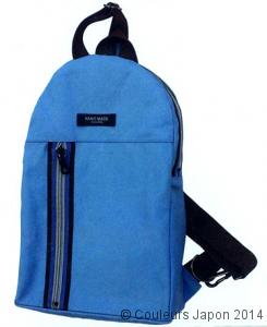 Exemple avec plusieurs fermetures sur un sac à dos