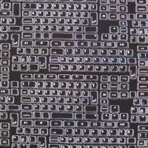 Tissu clavier d'ordinateur