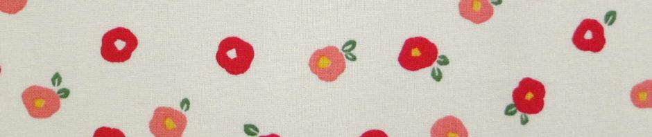 Fleur de camélia rouge stylisée
