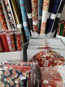 Papiers japonais pour origami, cartonnage ou scrapbooking