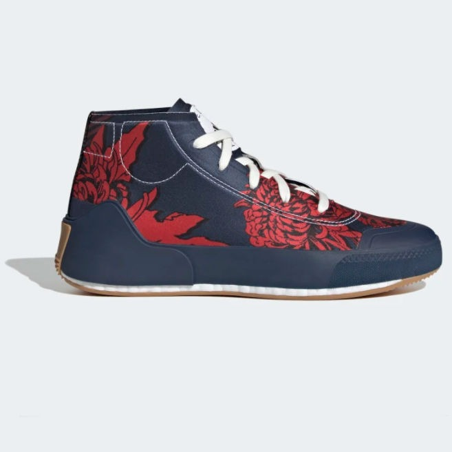 Chaussure Adidas Stella Mc Cartney inspiration tissus japonais